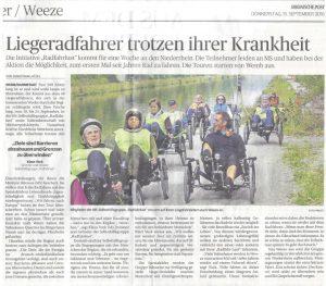 Rheinische Post, 15.09.2016