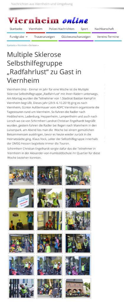 Viernheim online 29.10.2019