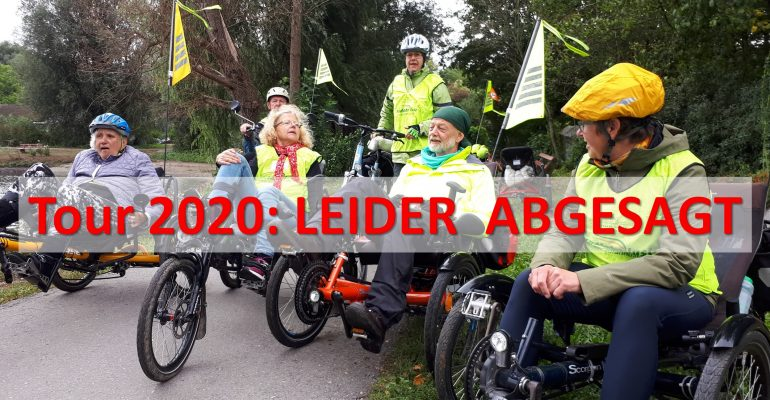 radfahrlust©-Tour 2020: Leider abgesagt