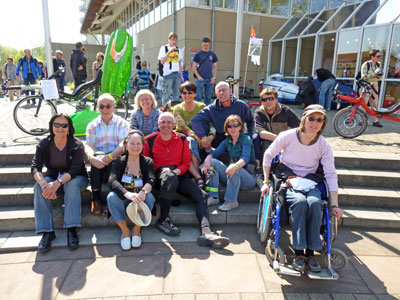 radfahrlust-Tour 2010: Frankfurt – Germersheim