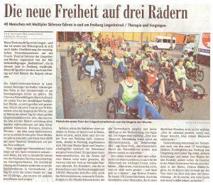 Badische Zeitung, 16.09.2014