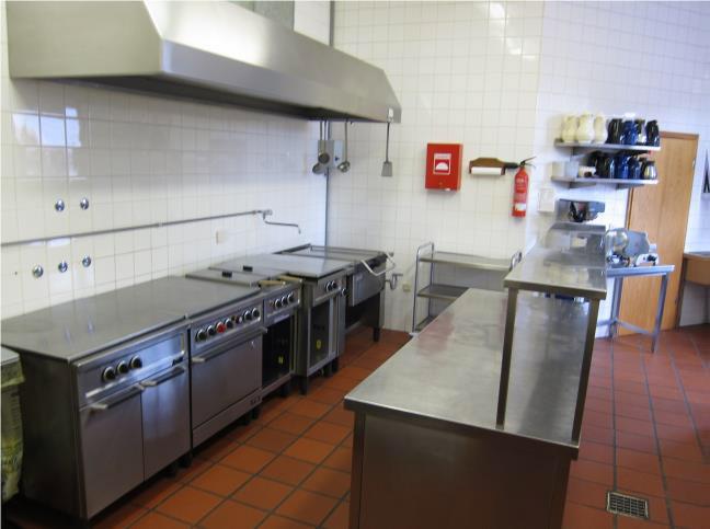 Küche in der Margarethenhalle