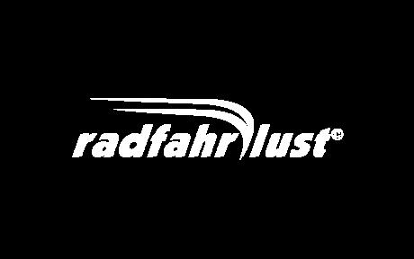 radfahrlust Logo weiß