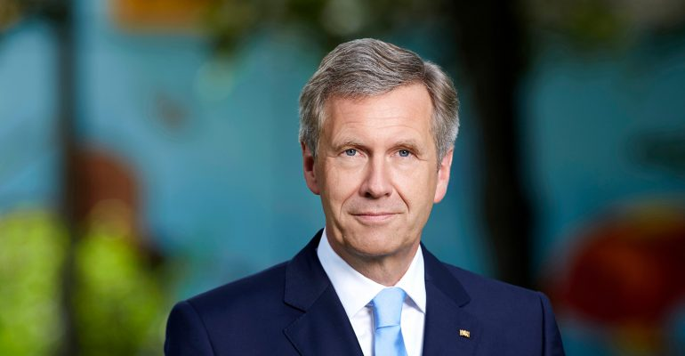 Schirmherr: Bundespräsident a.D. Christian Wulff
