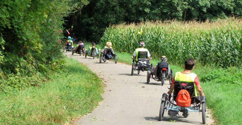radfahrlust©-Tour 2014: On tour im Dreyeckland